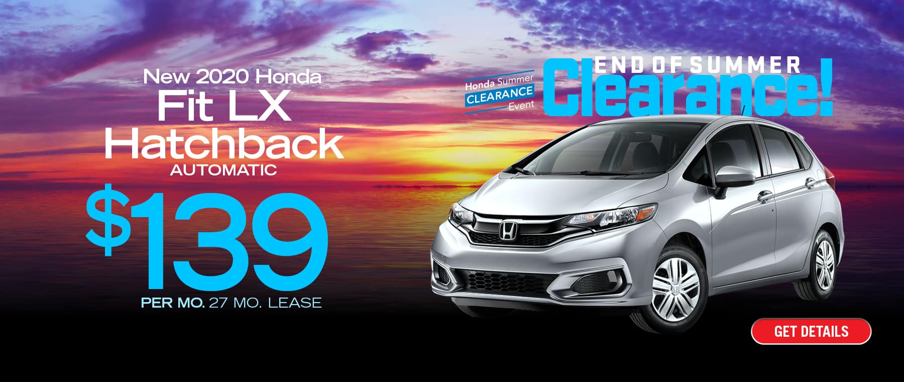 Lease a Honda Fit for $139