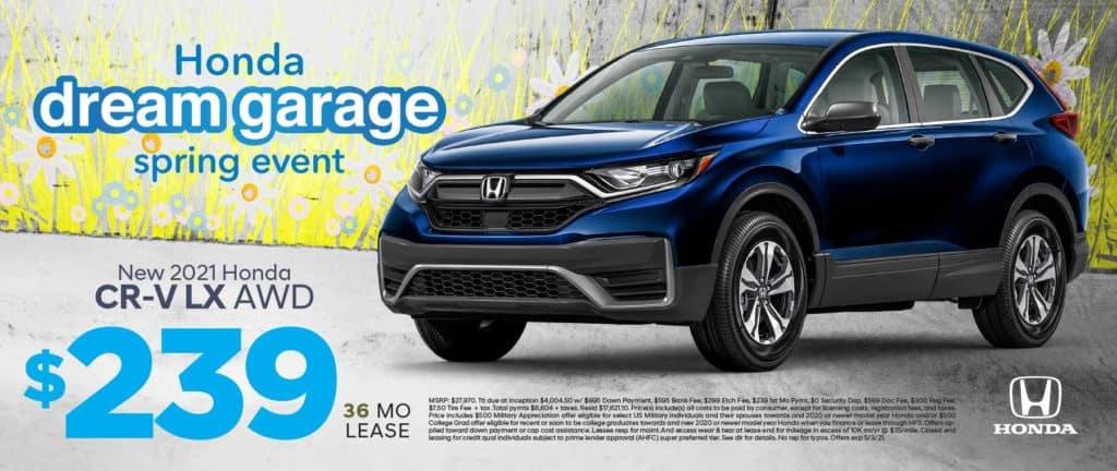 New 2021 Honda CR-V LX AWD