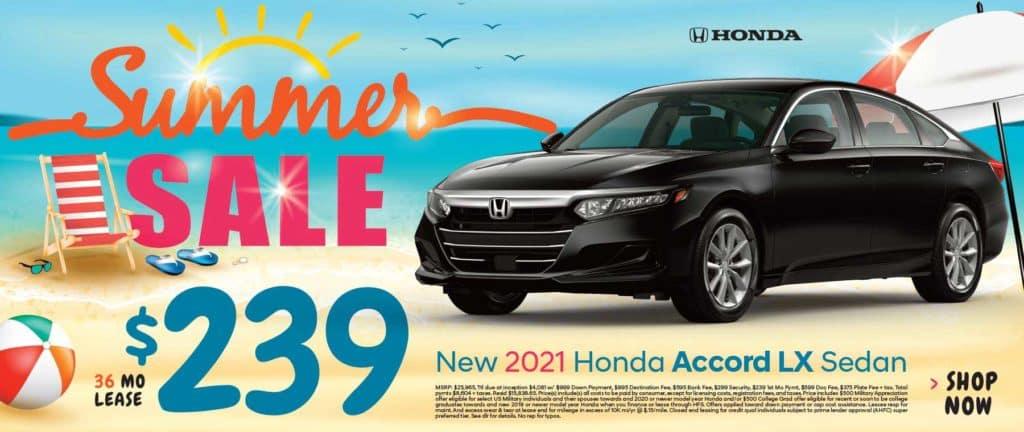 New 2021 Honda Accord LX Sedan