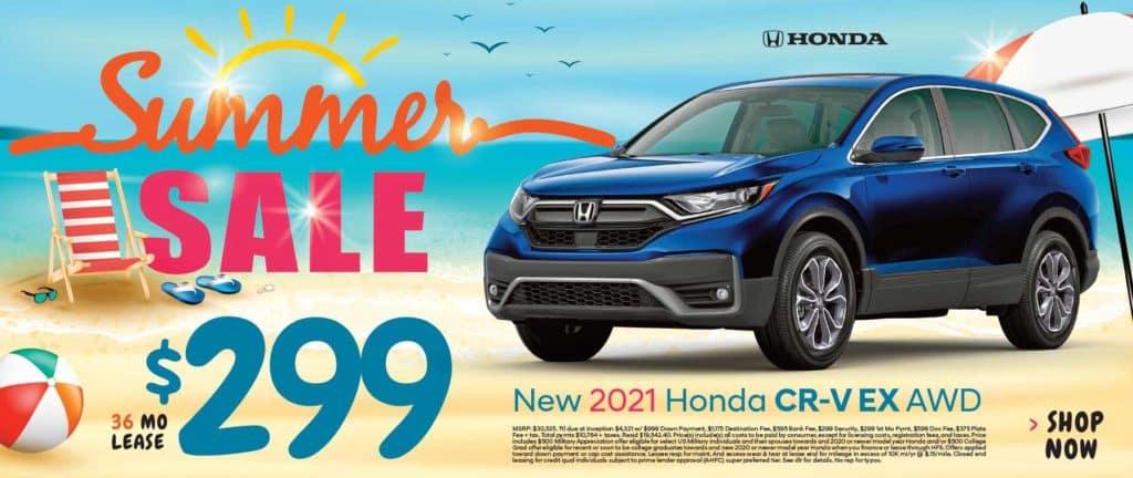 New 2021 Honda CR-V EX AWD