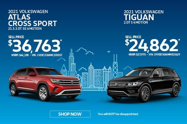 Buy: Tiguan & Atlas