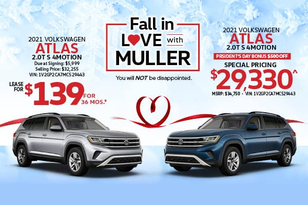 Atlas Lease & Purchase Specials