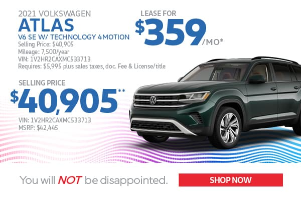 2021 Atlas Lease & Purchase Specials