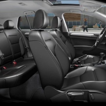 2017 Volkswagen Golf seating