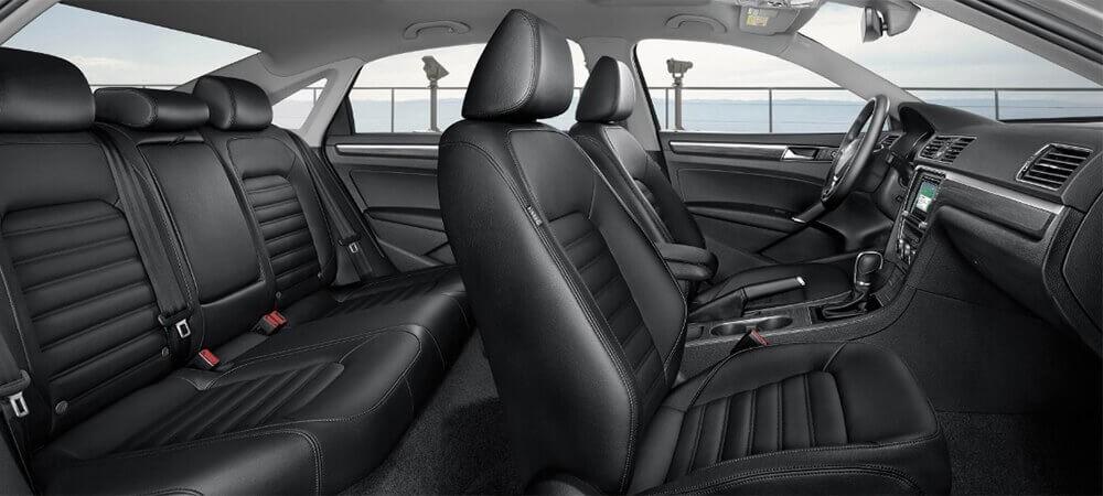 2017 Volkswagen Passat Interior Seats