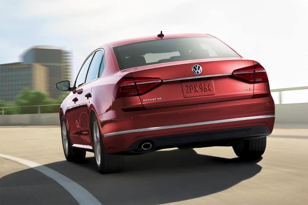2018 Volkswagen Passat rear view