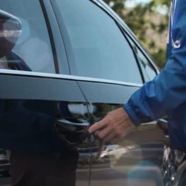 2018 Volkswagen Passat doors