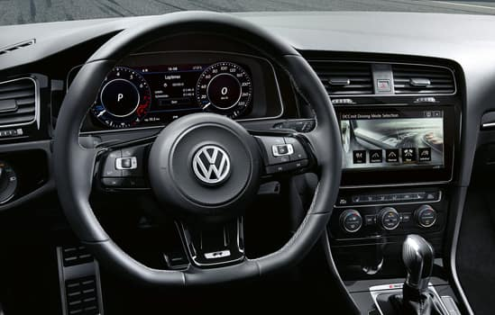 2018 Volkswagen Golf R Interior
