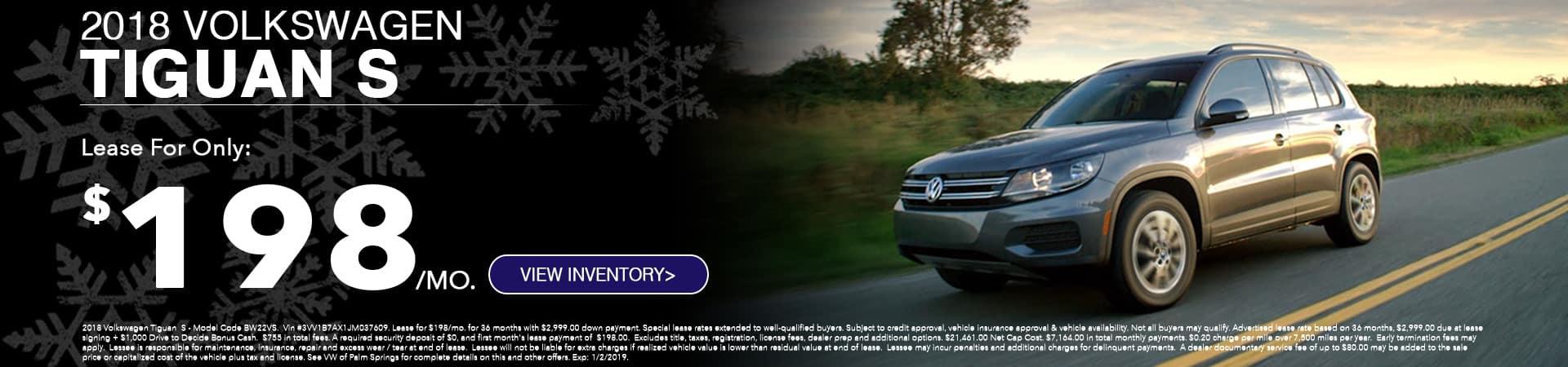 VW Tiguan December Special
