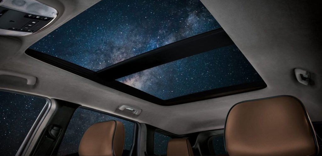 2017 Jeep Grand Cherokee Moonroof