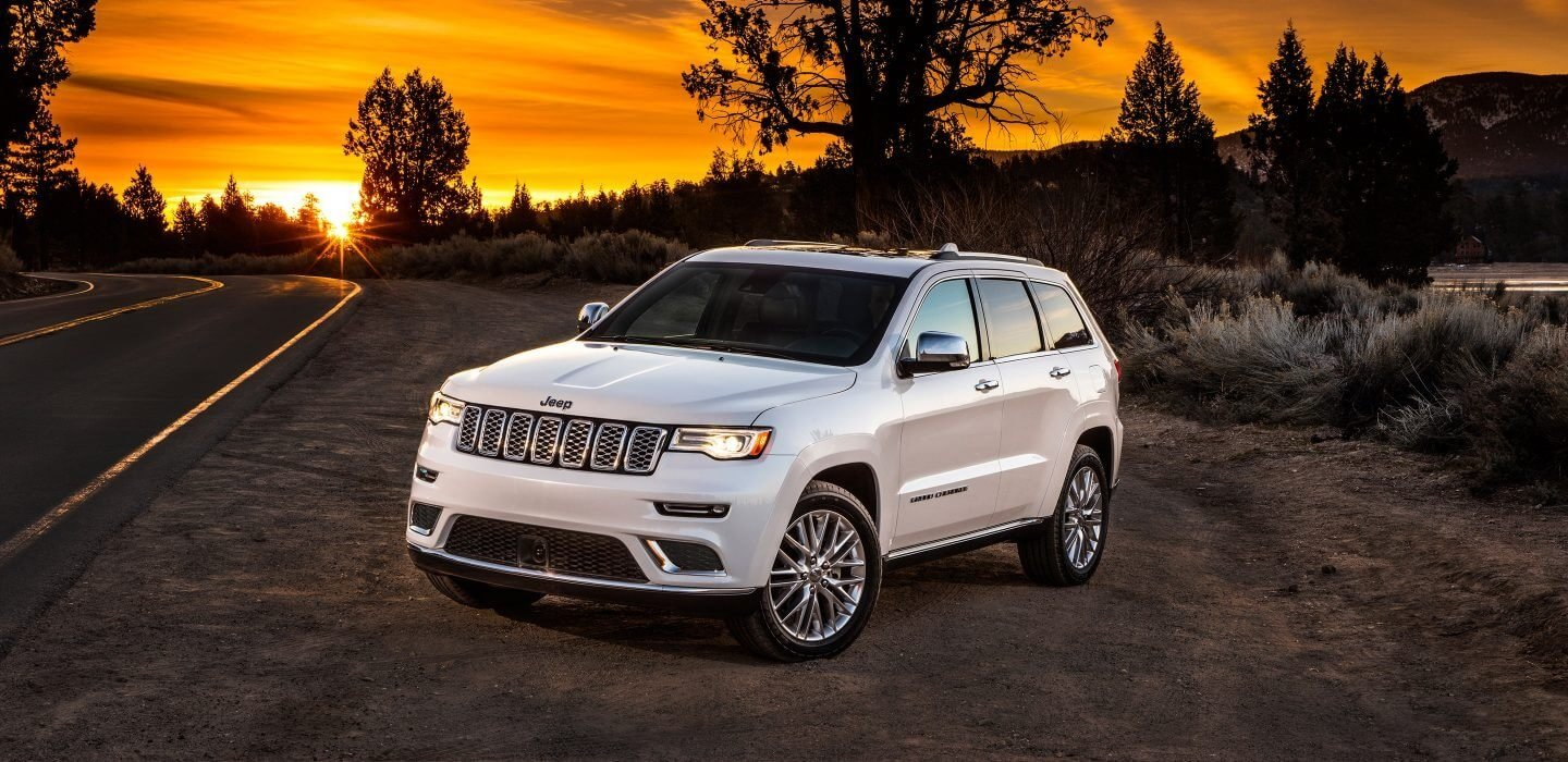 2017 Jeep Grand Cherokee Sunset