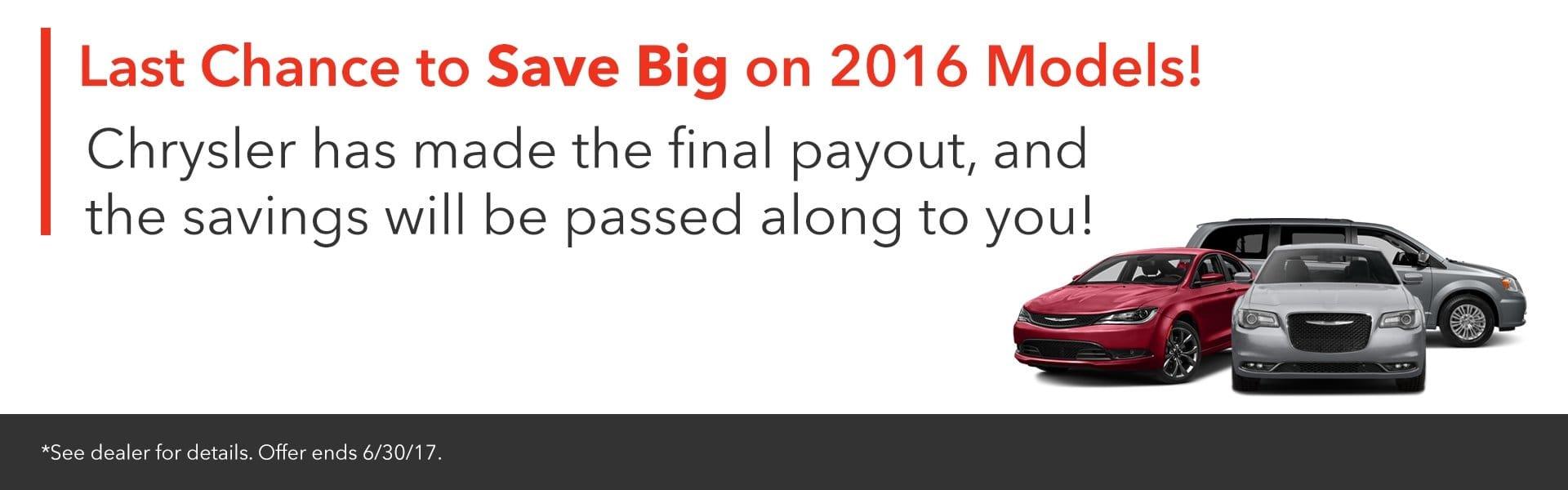 2016 savings