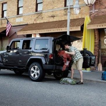 2017 Jeep Wrangler Trunk