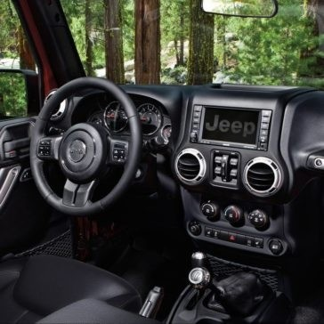 2017 Jeep Wrangler Dash