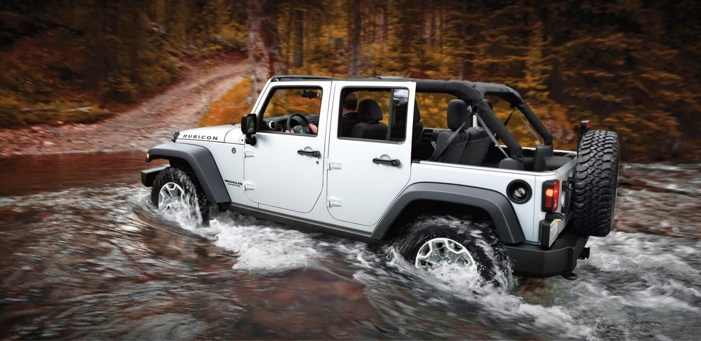 2017 Jeep Wrangler Water