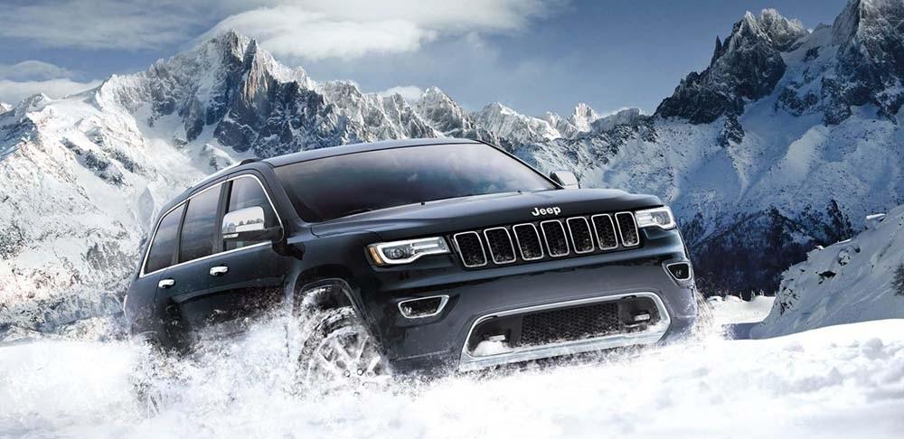 2017 Jeep Grand Cherokee Snow
