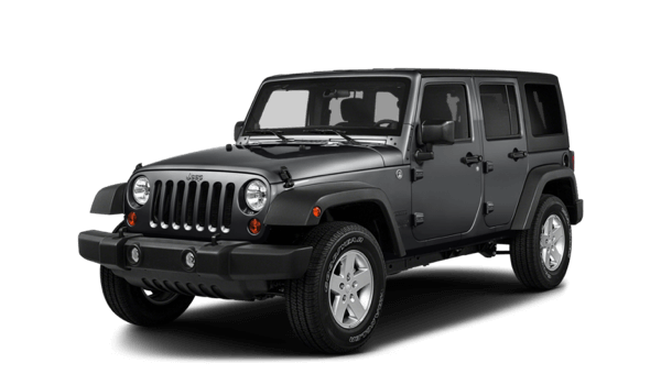 2017 Jeep Wrangler Unlimited white background