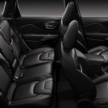 2018 Jeep Cherokee Seats