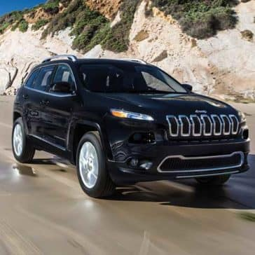 2018 Jeep Cherokee Black