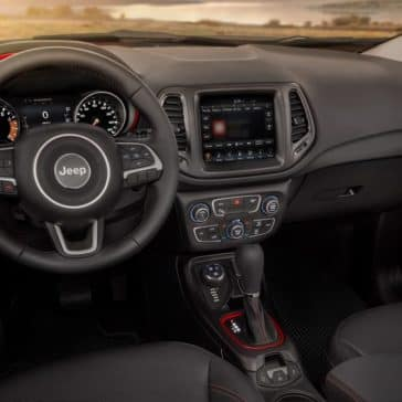 2018 Jeep Compass Dash