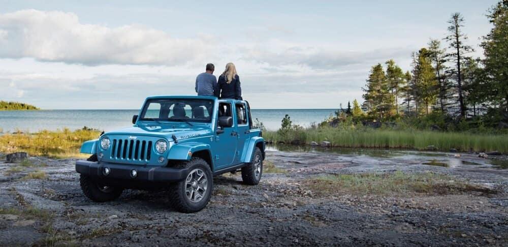 2018 Jeep Wrangler JK Parked