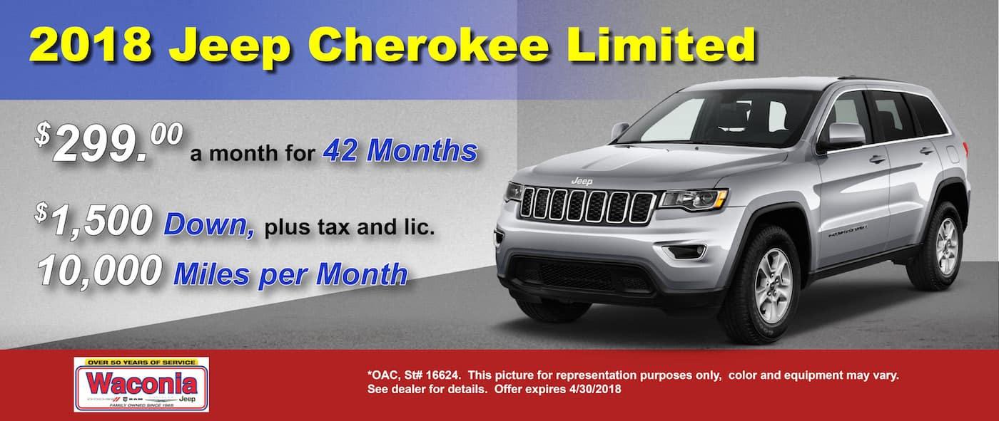 Cherokee April Waconia CDJR