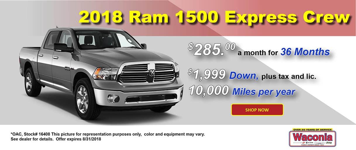 2018 Ram 1500 Express Crew
