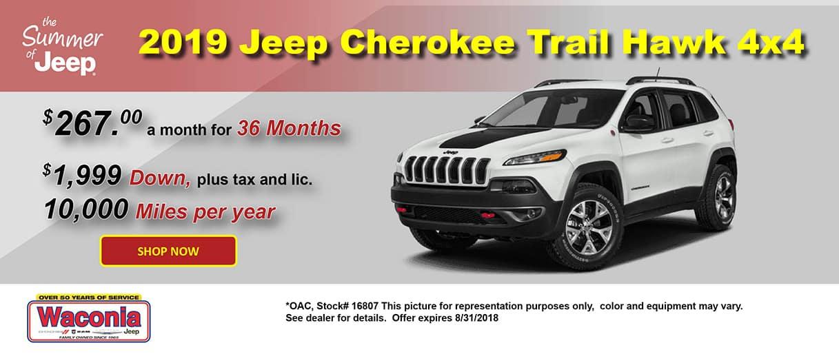 2019 Jeep Cherokee Trail Hawk