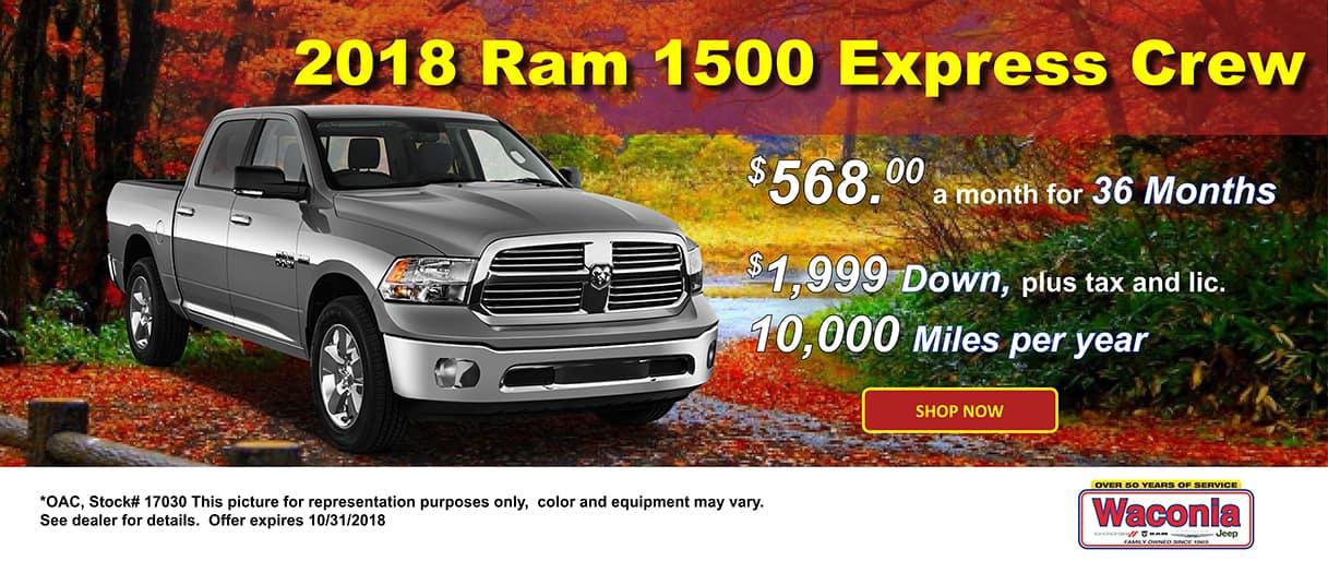 2018 Ram 1500 Express 4x4