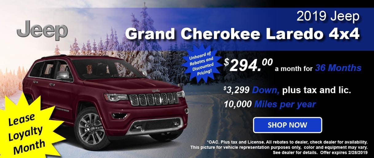 Grand Cherokee Lease