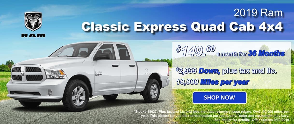 2019 Ram Classic Express