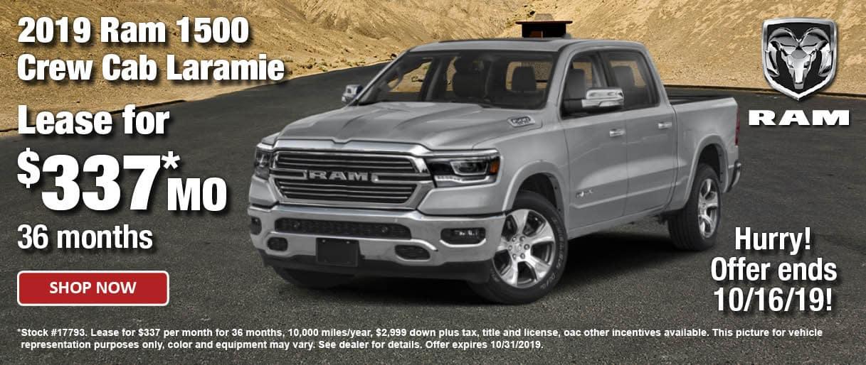 2019 Ram 1500 Crew Cab Laramie