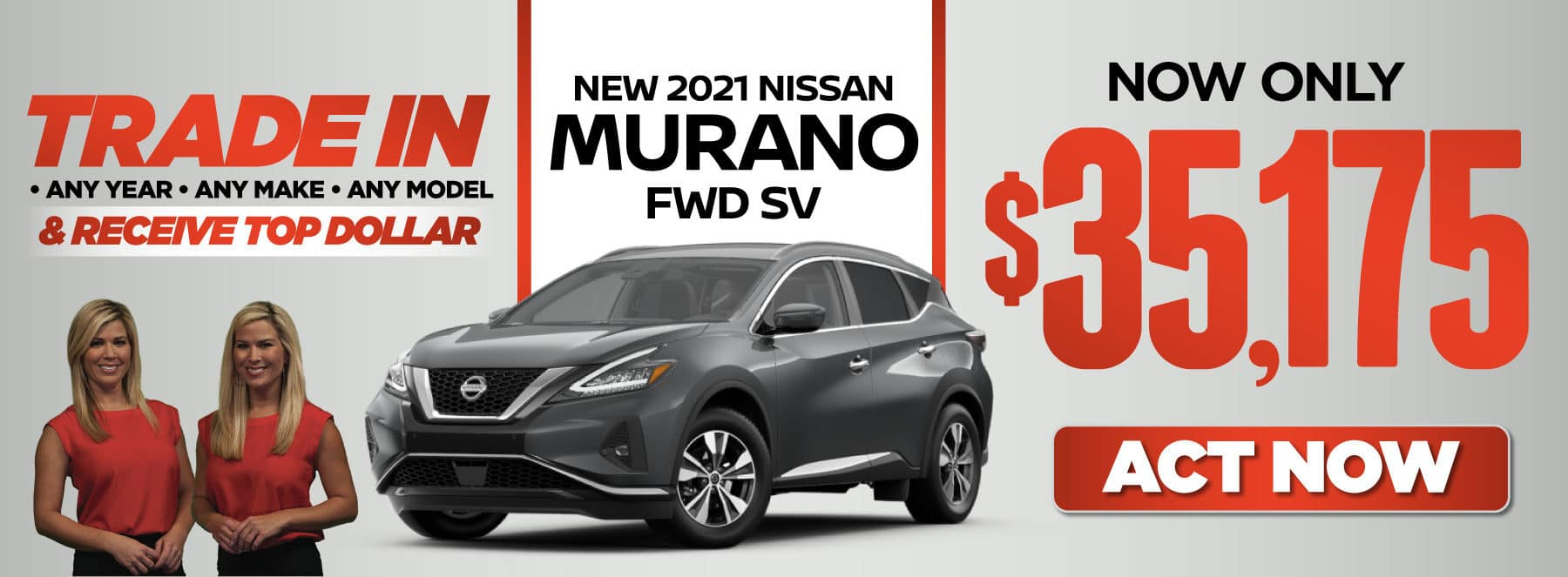 New 2021 Murano FWD SV- Now Only A$35,175 — ACT NOW