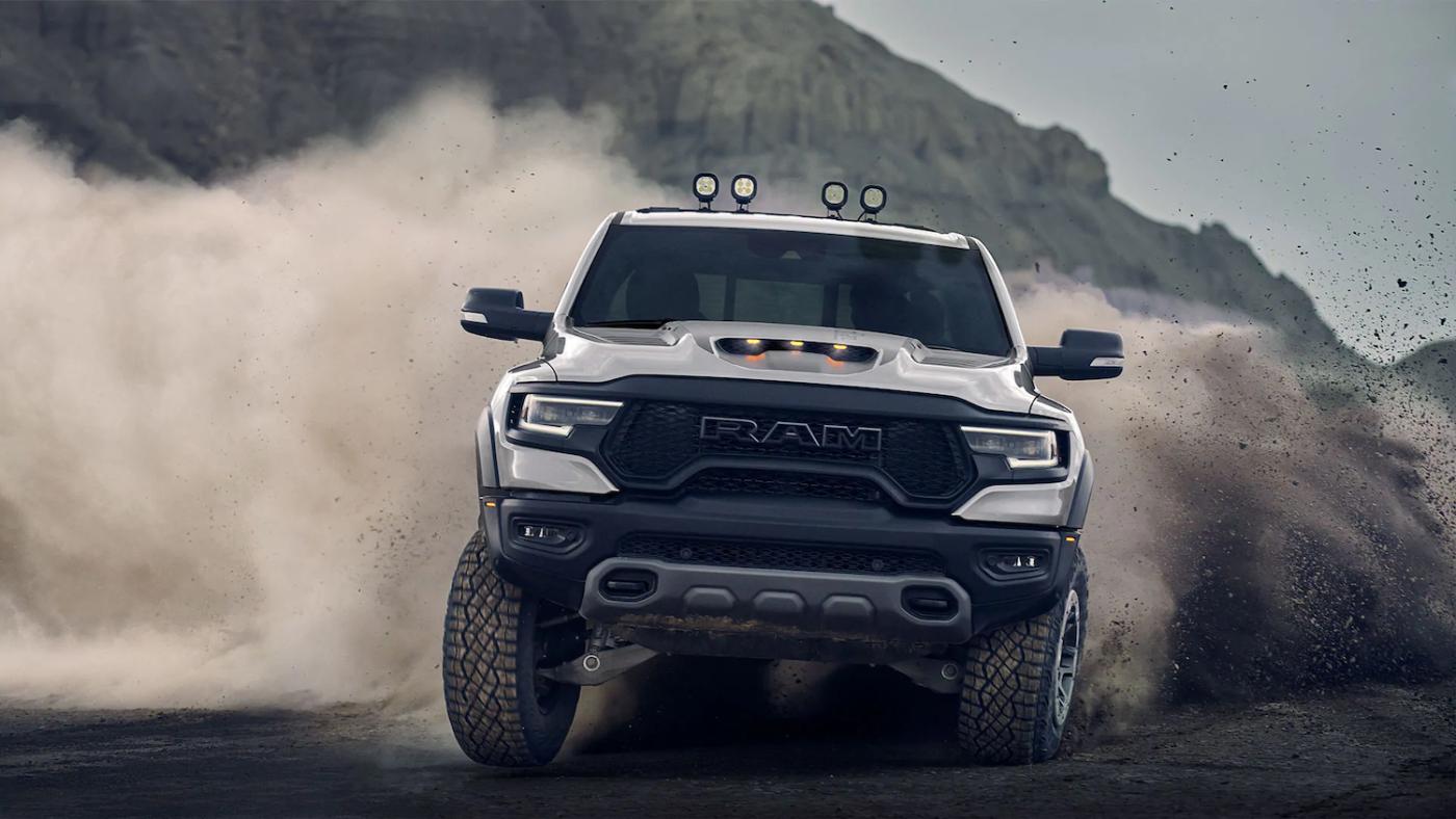 2021 Ram 1500 TRX off-roading
