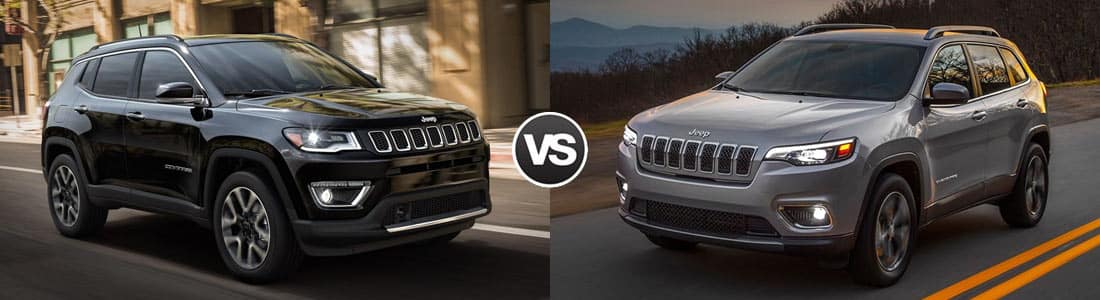 2018 Jeep Compass vs 2019 Jeep Cherokee