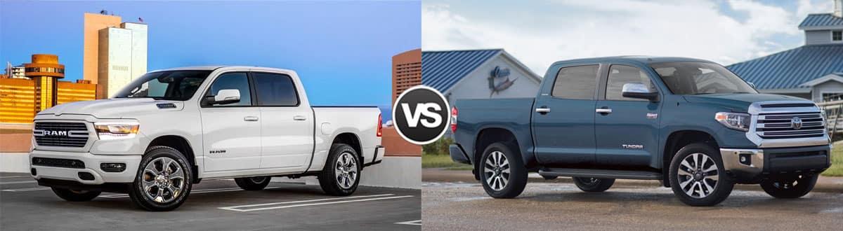 2019 Ram 1500 vs 2019 Toyota Tundra