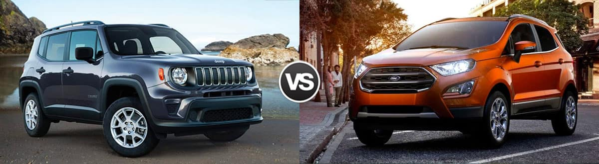 2019 Jeep Renegade vs 2019 Ford EcoSport