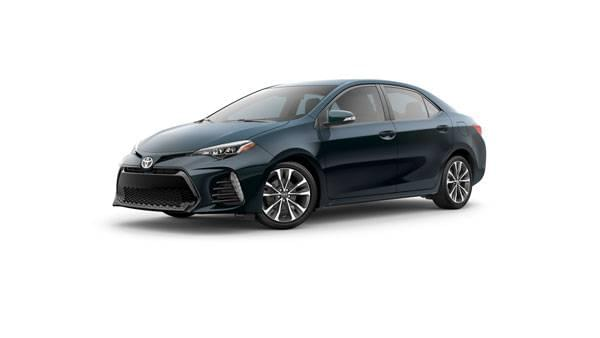 Lease a new 2017 Corolla SE CVT for 36 Months @ $148/month and $1499 Due At Signing