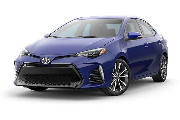 New 2017 Corolla SE CVT Finance and Lease Offers