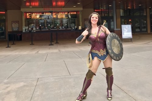 Wilsonville Toyota PDX Wonder Woman