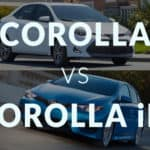 Corolla vs. Corolla iM