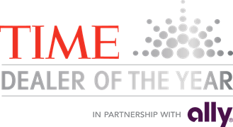 TIME Ally Dealer of the Year 2018 logo