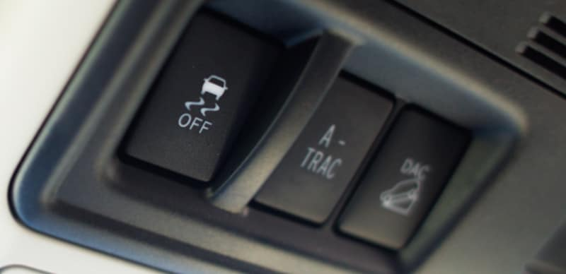 How Do Traction Control (TRAC) and A-TRAC Work