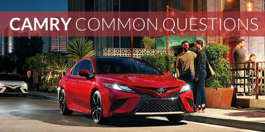 Toyota Camry Commonly Asked Questions | Wilsonville Toyota