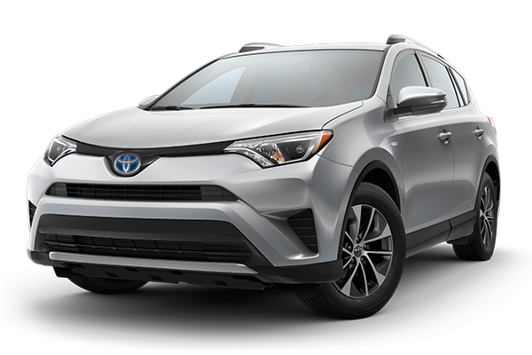 New 2018 Rav4 Hybrid LE AWD Finance and Lease Offers