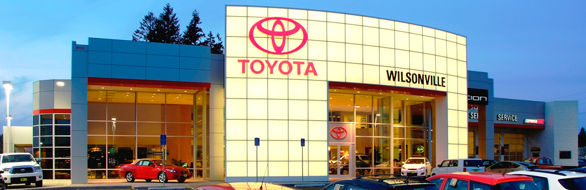 Wilsonville Toyota Dealership