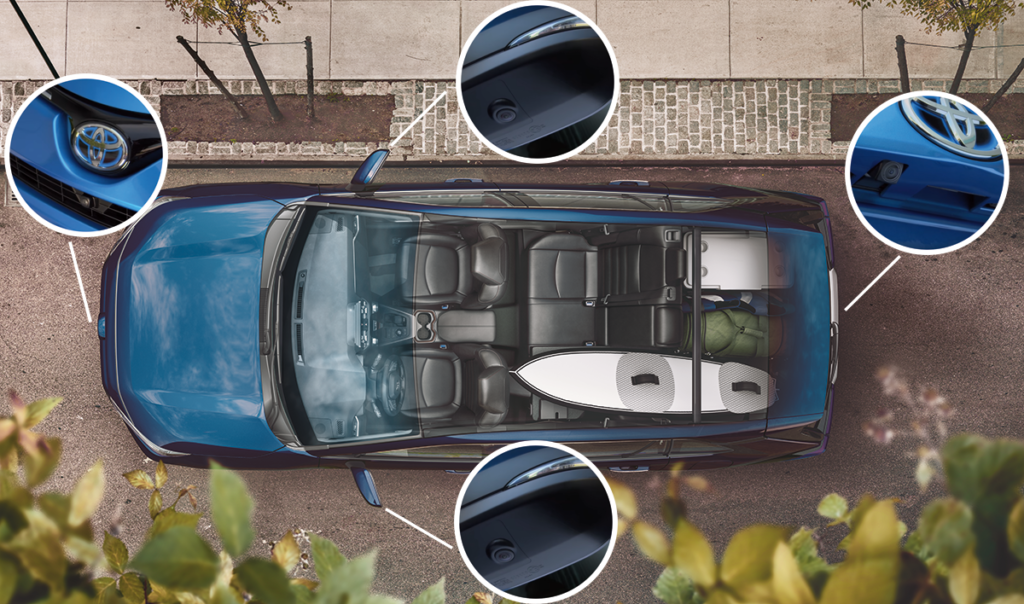 What Is Toyota S Bird S Eye View Camera And How Does It Work