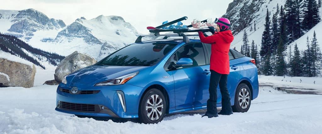Prius AWD-e in Snow