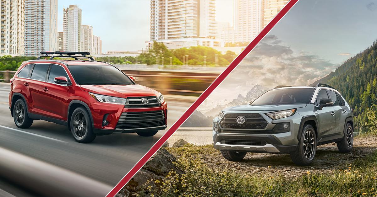 4Runner Vs Highlander >> 2019 RAV4 vs. Highlander: Key Differences | Wilsonville Toyota