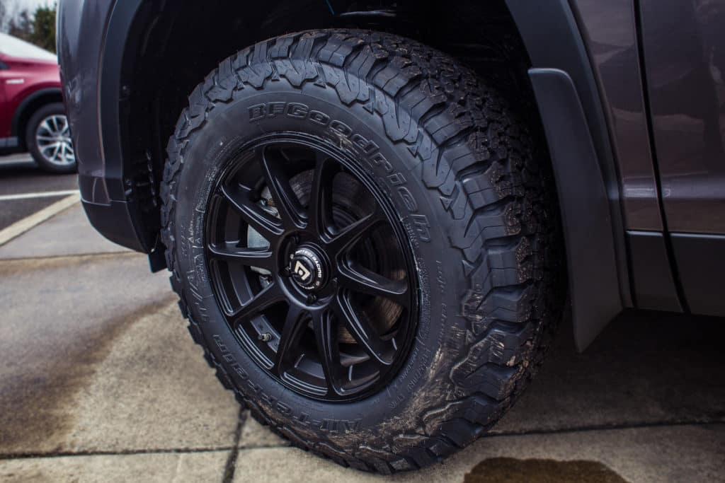 Highlander XLE Tires